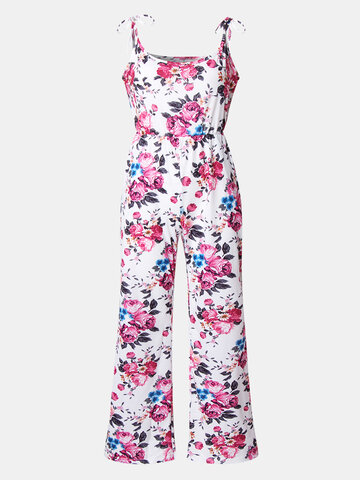 Mommy And Me Floral Print Jumpsuit
