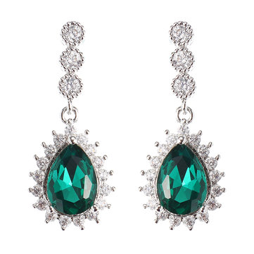 JASSY Colorful Zircon Colorful Earrings