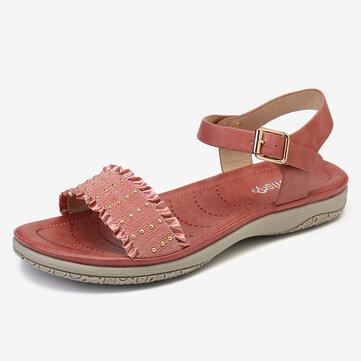 Buckle Strap Comfy Sandals