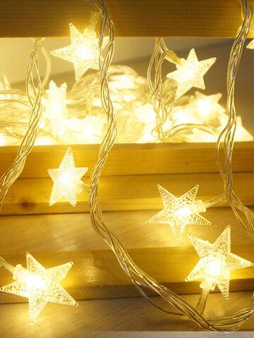10M 100 LED 220V Fairy String Star Light Lamp Wedding Xmas Party Outdoor Indoor Room Decor