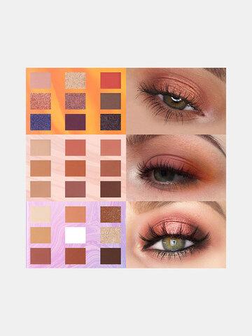 9 Colors Sunflower Eyeshadow Palette