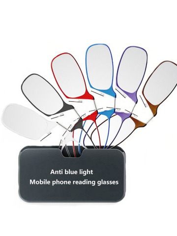 Nose Clip Reading Glasses