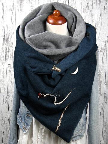 Donna Gatti Modello Soft Sciarpa Keep Warm
