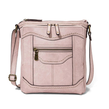 Mandy Multifunction Bag Solid Casual Crossbody Bag