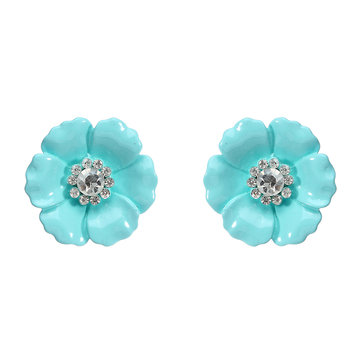 JASSY® Flower Rhinestone Crystal Earrings