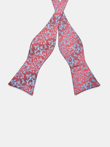 Men's Business Bow Ties Leisure Pattern Paisley Jacquard Woven Silk Neckties