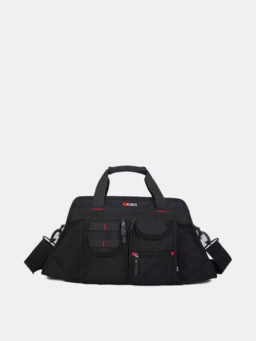 Men Business Casual Multi-Pocket Big Capacity Shoulder Portable Crossbody Bag Handbag