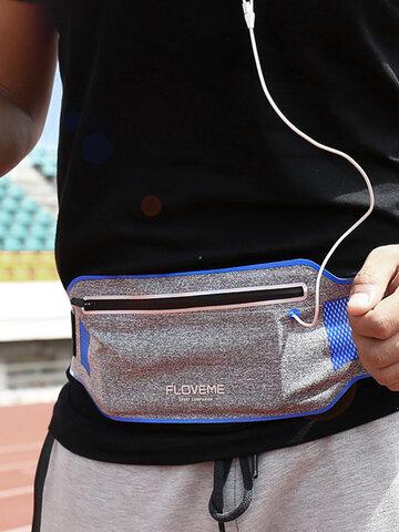 Cintura impermeable Bolsa Teléfono deportivo para correr Caso Cartera Caso para menos de 6 pulgadas Smartphone
