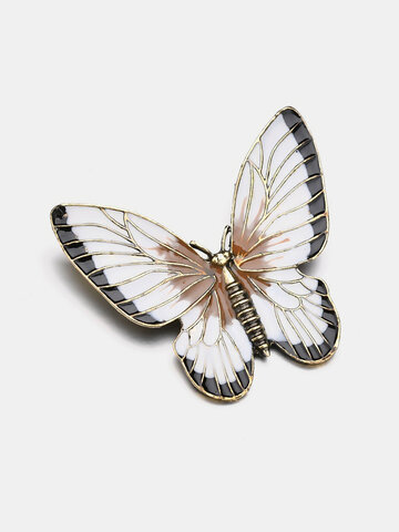 Elegant Colorful Butterfly brooch