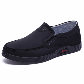 Men Super Soft Comfy Fabric Casual Shoes