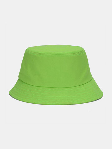Solid Poetable Sunscreen Outdoor Sun Hat Bucket Hat