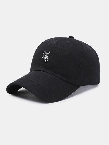 Unisex Cotton Embroidery Astronaut Pattern Baseball Hat