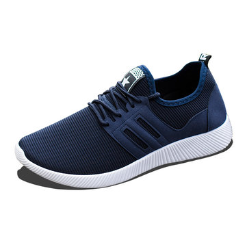 Men Breathable Fabric Casual Sports Running Shoes