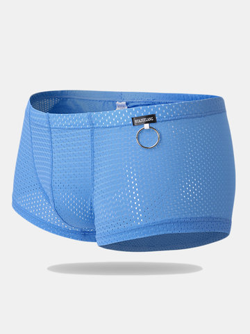 Ice Silk Boxer Briefs for Men