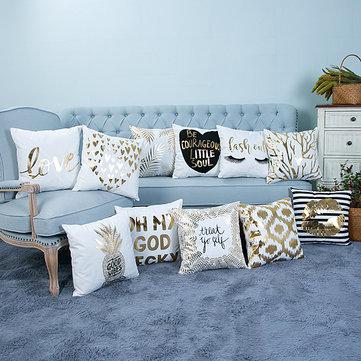 Творческая мягкая фольга Pattern Подушка Обложка Обложка Подушка Подушки Подушка Главная Диван-кровать Декор