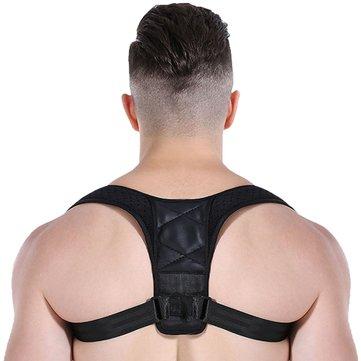 Correcteur de posture ajustable unisexe
