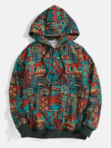 Tribal Printed Hoodies