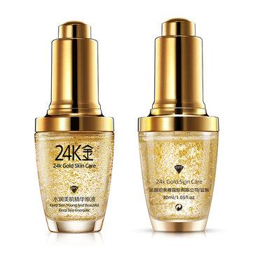 BIOAQUA 24K Active Face Serum Essence Anti-Aging Anti Wrinkles Crema Idratante Idratante 30ml