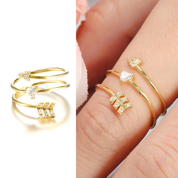 Elegant Adjustable Finger Rings
