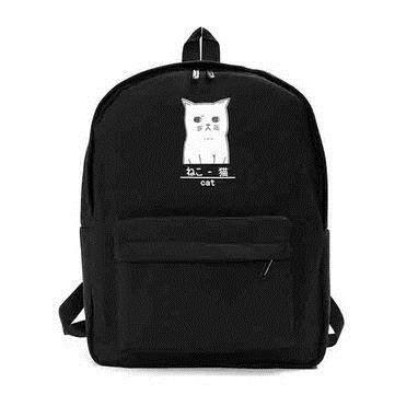 Girls Sweet Cute Bag Canvas Student Backpack Outdoor Travel