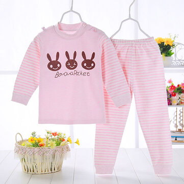 2pcs Baby Girls Clothing Set For 0-48M