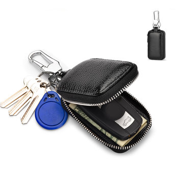 Man Casual Keychain Wallet Coin Pursh Waist Bag