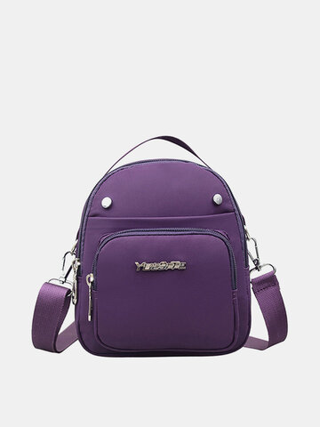 Nylon Casual Light Daily Shoulder Bags