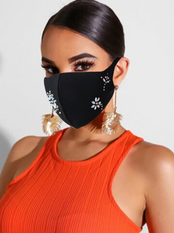 Women Decor Mask for Dance Party Fashion Face Mask