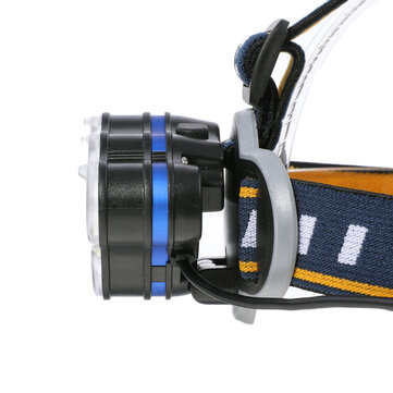 OUTERDO 3300LM 8Modes 8LED Rechargeable Headlamp Flashlight Waterproof LED Head