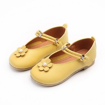 Girls Candy Color Cute Flat Shoes