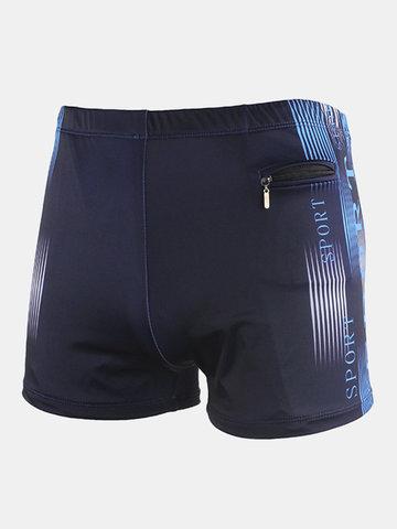 Plus Pantaloncini da tasca da nuoto per nuoto da surf con cerniera a molla calda con cerniera