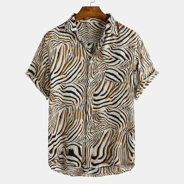Mens Animal Printed Shirts