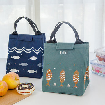 SaicleHome Lunch Tote Bag Insulated Handbag