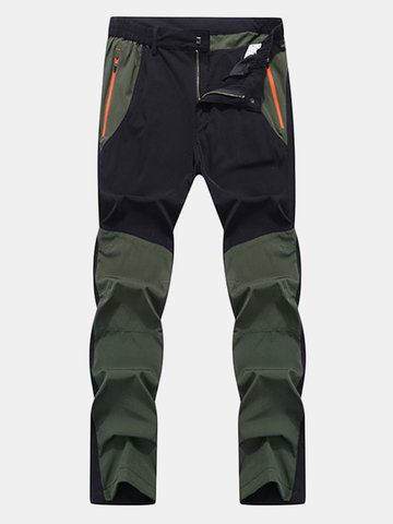 Mens Water-repellent Quick-drying Pants