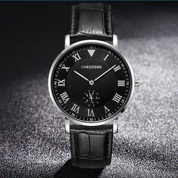 Ultra Thin Dial Design Men Wrist Watch