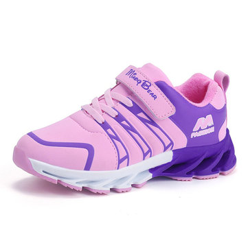 Boys Girls Color Match Sport Casual Shoes