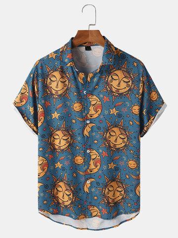 Рубашки с принтом All Over Celestial