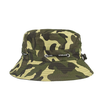 Breathable Camouflage Bucket Cap
