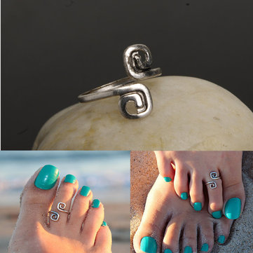 Retro Bohemian Toe Rings