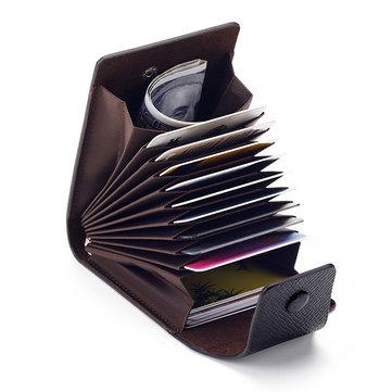 Carteira Titular de Cartão Multiflasses de Cor Pura Simples Masculina