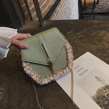 New Ins Fresh Small Bag Wild Season New Female Bag Foreign Student Bag Messenger Bag Tide