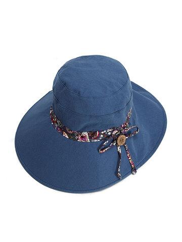 Double-sided Wear Sunscreen Bucket Hat