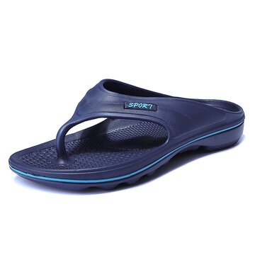 Homens Soft Sole Sole Light Casual Beach Flip Flops