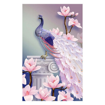 Peacock DIY 5D Diamond Embroidery Painting