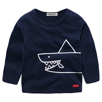Cool Boys Long Sleeve Tops For 2Y-9Y