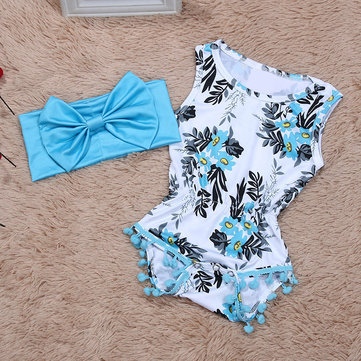 2Pcs Newborn Baby Romper For 0-24M