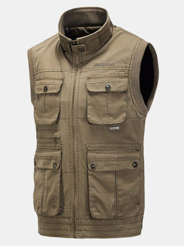 Fall Winter Outdoor Cotton Vest