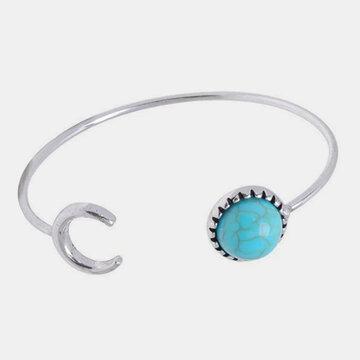 Metal Turquoise Bangle