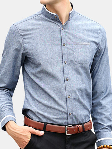 Casual  Slim Fit Dress Shirt