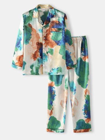 Tie Dye Colorful Casual Loungewear Sets